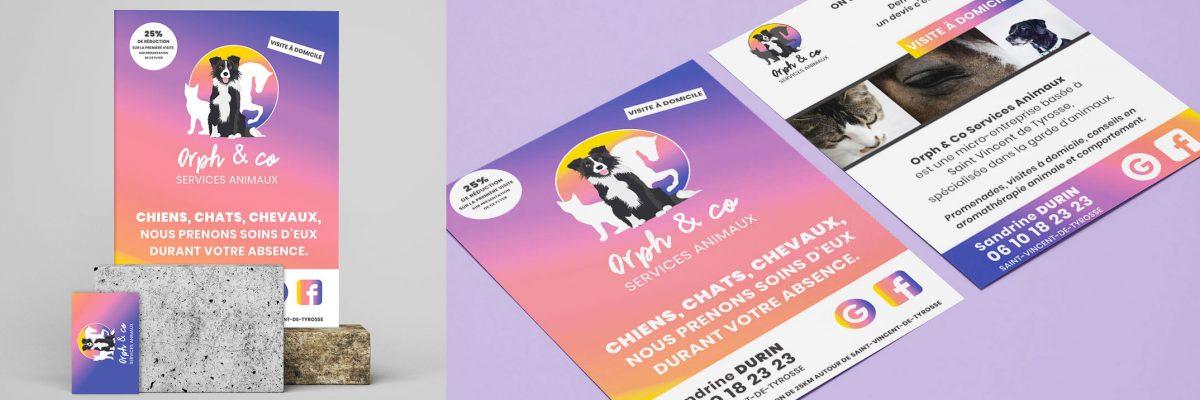 Présentation-flyer-orphco-garde-animaux-tyrosse-service-flyer-promo