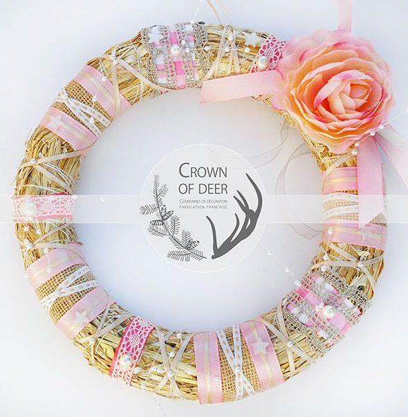 crownofdeer-decoration-couronne-porte-orange-dentelle