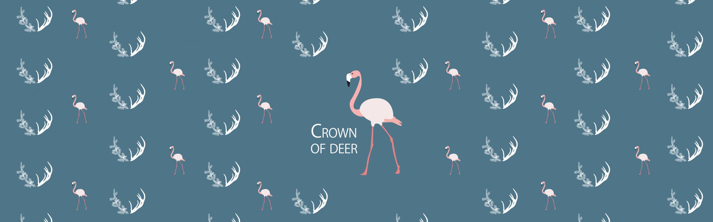 drawing-crownofdeer-home-decoration